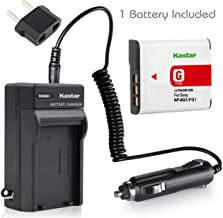 Kastar Battery (1-Pack) and Charger Kit for Sony NP-BG1, NP-FG1, NP-FG1, BC-CSG, BC-CSGE work with Sony Cyber-shot DSC-H3 DSC-H7 DSC-H9 DSC-H10 DSC-H20 DSC-H50 DSC-H55 DSC-H70 DSC-H90 DSC-HX5V DSC-HX7V DSC-HX9V DSC-HX10V DSC-HX20V DSC-HX30V DSC-N1 DSC-N2 DSC-T20 DSC-T100 DSC-W30 DSC-W35 DSC-W50 DSC-W55 DSC-W70 DSC-W80 DSC-W90 DSC-W100 DSC-W120 DSC-W130 DSC-W150 DSC-W170 DSC-W200 DSC-W210 DSC-W215 DSC-W220 DSC-W230 DSC-W270 DSC-W290 DSC-W300 DSC-WX1 DSC-WX10 Handycam HDR-GW77V