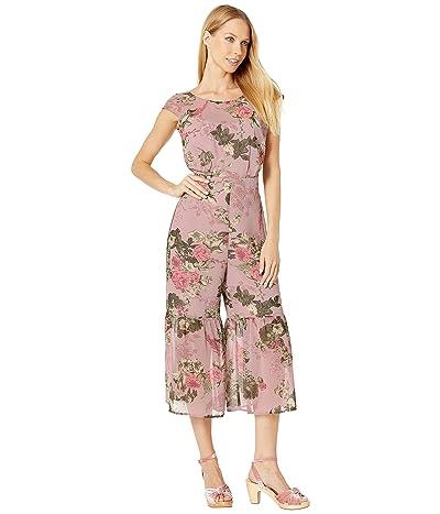 BCBGeneration Cap Sleeve Culotte Jumpsuit THR9226296 (Multi) Women