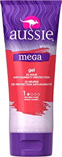 Aussie Mega Gel, 20 Hour Anti-Humidity Protection 7 oz