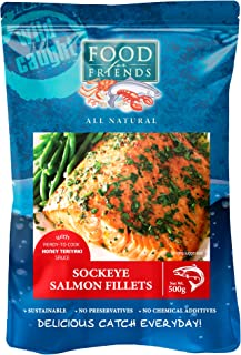 Food for Friends Sockeye Salmon with Honey Teriyaki Sauce 700g, 1 Count - Frozen