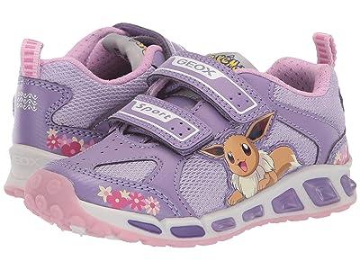 Geox Kids Shuttle 16 Pokemon (Toddler/Little Kid) (Light Purple) Girl