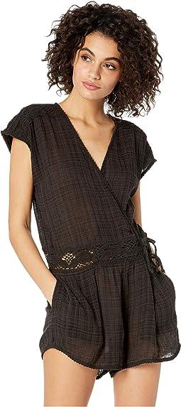 1df2924dd4369 Garden Summers Crochet Dress Cover-Up.  40.00. Black