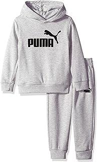 PUMA Boys' Little Fleece Hoodie Set