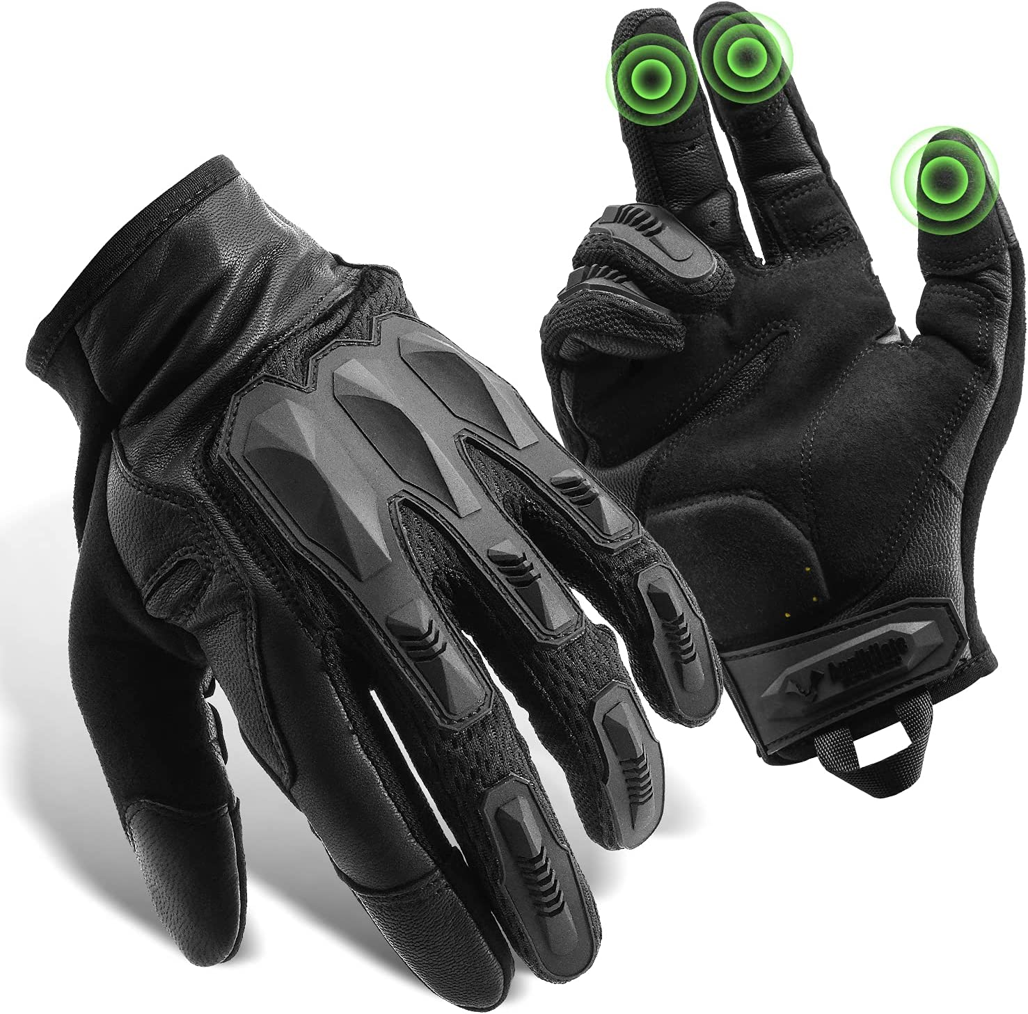 GRAMFIRE Tactical Gloves Selling and selling TPR Large special price Protective Military Knuckle Police