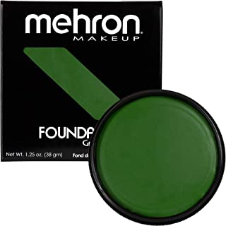 Mehron Makeup Foundation Greasepaint (1.25 ounce) (Green)