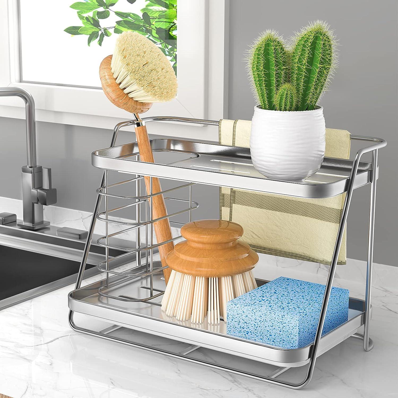 Popular popular ODesign Sink Caddy Organizer Sponge San Antonio Mall for Counterto Holder kitchen