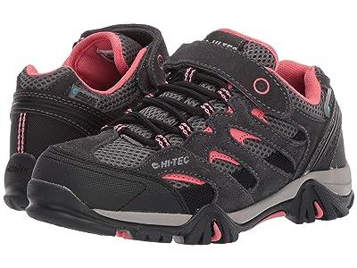 Hi-Tec Kids Ravus Low EZ (Toddler/Little Kid/Big Kid) (Charcoal/Graphite/Georgia Peach) Kids Shoes