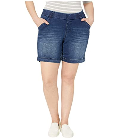 Jag Jeans 8 Plus Size Gracie Pull-On Shorts (Flatiron) Women