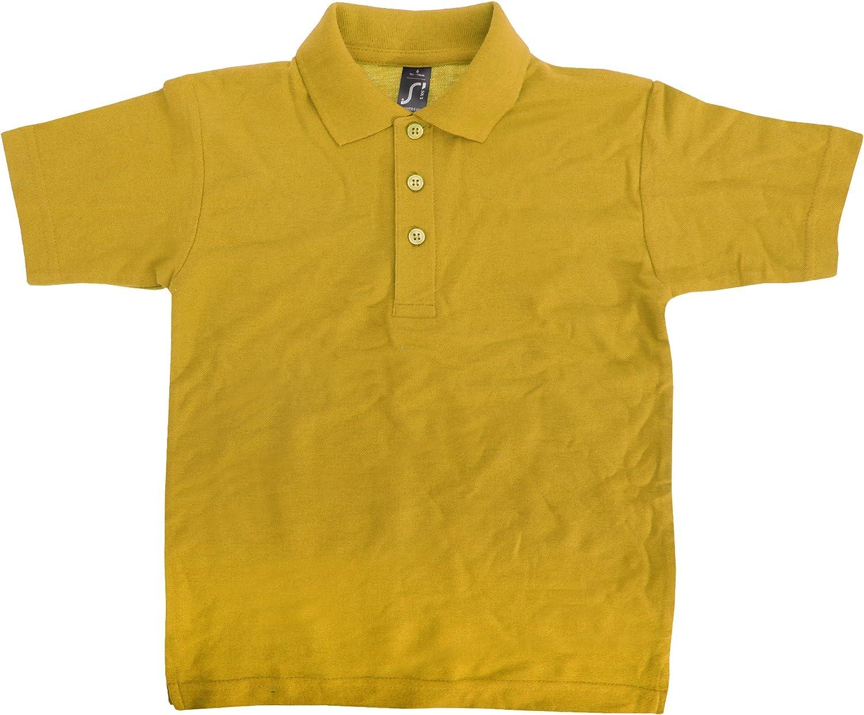 SOL'S Kids Big Boys Summer II Pique Polo Shirt