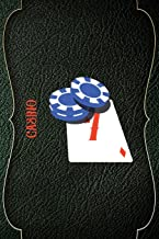 Casino: Casino Notebook Journal Composition Blank Lined Diary Notepad 120 Pages Paperback Green