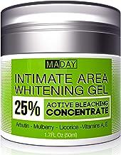Intimate Whitening Cream – Made in USA Skin Lightening Gel for Body, Face, Bikini..