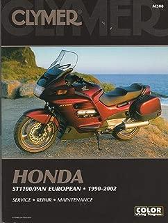 HUGE 1990-2002 CLYMER HONDA ST1100/ PAN EUROPEAN SERVICE MANUAL M508 (052)