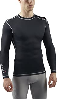 Sub Sports Mens Long Sleeve Compression Top Base Layer Vest