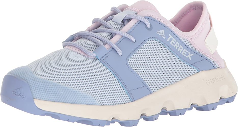 Adidas outdoor Wohommes Terrex CC Voyager Sleek Walking chaussures, Chalk bleu aero rose, 8 M US