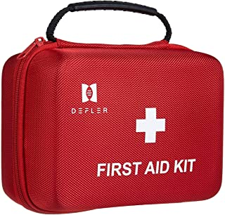 First Aid Kit, Defler 230pcs First Aid Kits 2018 for Businesses Emergency and Survival Situations Ideal for Camping ,Hiking, Car, Travel, Office, Sports, Pets, Hunting, Home
