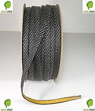 Agripro - Junta térmica adhesiva 550°, de 10x 3mm para cristal de estufas, chimeneas, hornos, etc.