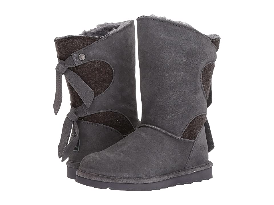 Bearpaw Willow (Charcoal/Knit) Women