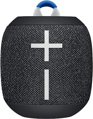 Ultimate Ears WONDERBOOM 2 Portable Bluetooth Speaker, Deep Space Black (984-001547)
