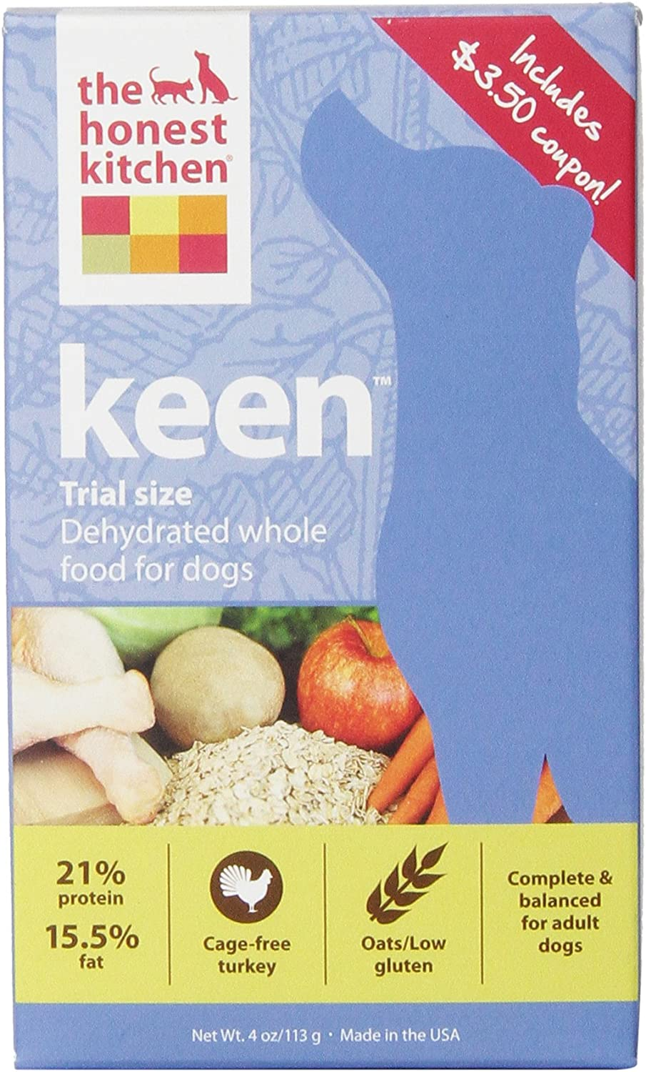 The Max 62% OFF Honest Kitchen Keen Dog Dehydrated Be super welcome Food