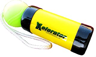 The Original Xelerator Fastpitch Softball Pitching Trainer and Warm Up Tool with 12 Inch Foam Ball – Economy Model