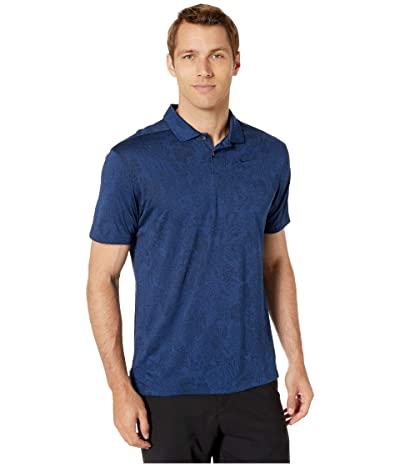 Nike Golf Breathe Vapor Jacquard Polo (Blue Void/Obsidian/Blue Void) Men