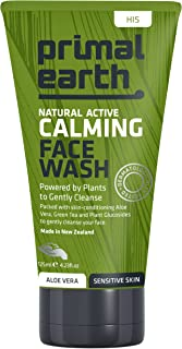 Primal Earth Natural Active Calming Face Wash For Sensitive Skin, 125ml