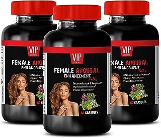 Women Fertility Supplements - Female Arousal Enhancement Pills - mucuna pruriens Velvet Bean - 3 Bottles 180 Capsules