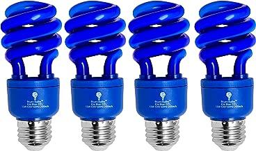 Set of 8 GE Lighting 63511 Reveal Bright from the Start CFL 20-Watt 1050-Lumen A21 Light Bulb with Medium Base 75-watt replacement