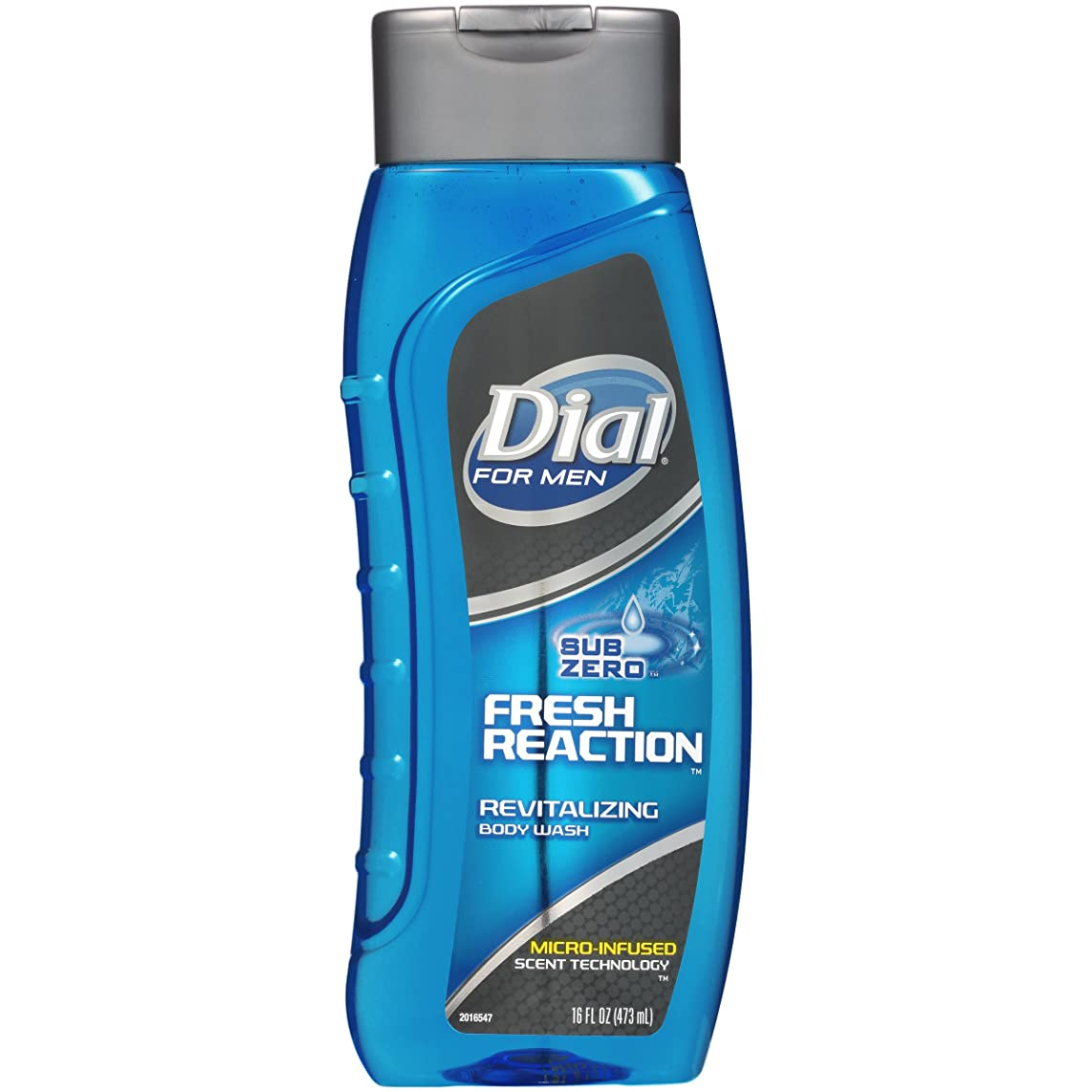 Dial for Men Body Wash, Fresh Reaction, 16 Fl. Oz