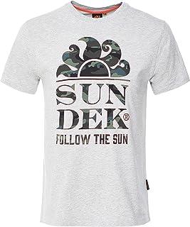 SUNDEK Men's Follow The Sun T-Shirt Grey