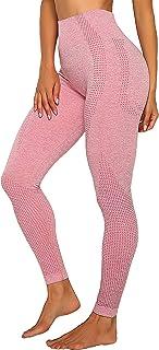 INSTINNCT Damen Yoga Lange Leggings Slim Fit Fitnesshose Sporthosen