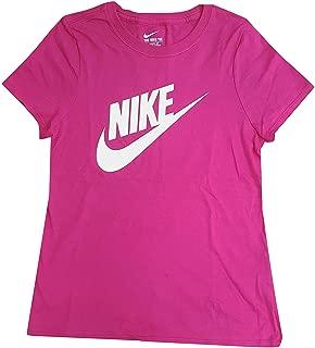 Nike Girl's Swoosh Azalea/White/Graphic T-Shirt AI5664-616