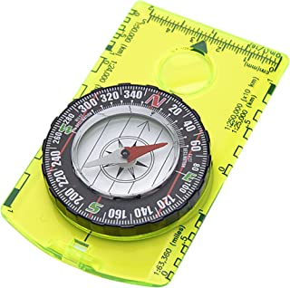 featured product Reliable Outdoor Gear Professional Boy Scout Compass - Liquid Filled, Rotating Bezel, Magnetic Heading - for Navigation, Orienteering and Survival