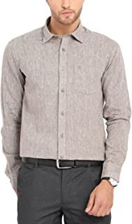 Classic Polo Brown Full Sleeve Formal Shirt for Men