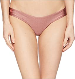 Maaji Shimmering Cascade High Leg Cheeky Cut Bottom