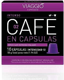 VIAGGIO ESPRESSO - 120 Cápsulas de Café Compatibles con M