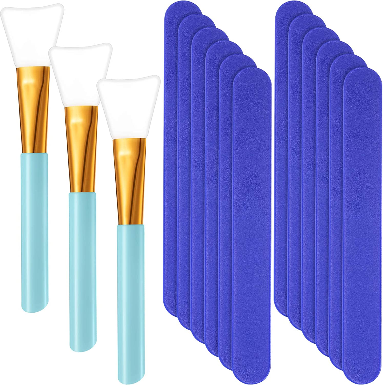 12 Dedication Pieces Plastic Stir Stick 3 Set with Max 71% OFF Silicone Brushes