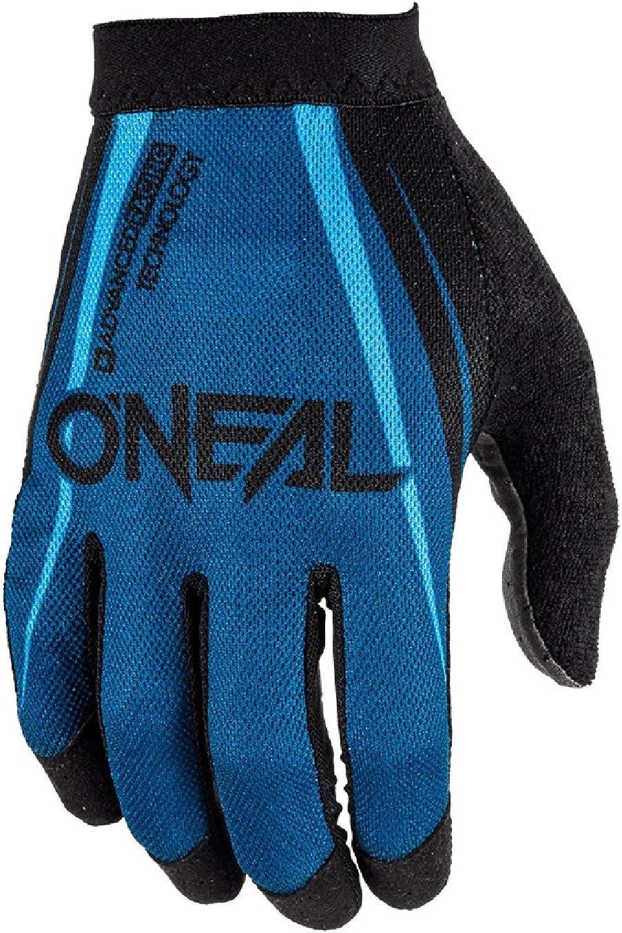 O Neal Amx Mx Dh Fr Fahrrad Handschuhe Lang Blocker Schwarz Blau 2020 Oneal Größe M 8 5 Auto