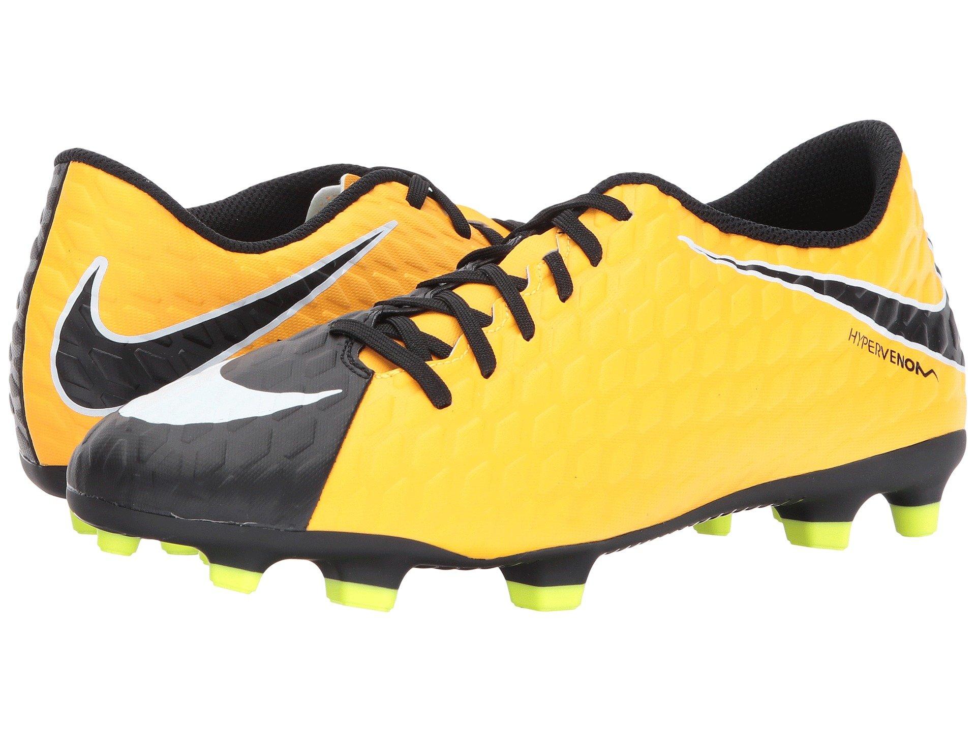 Nike Hypervenom Phade Ii Fg In Laser Orange White Black Volt ... 33768d321a