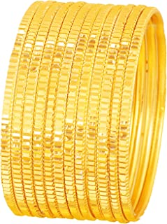 """Touchstone""""Colorful Bangle Collection"""" Indian Bollywood Alloy Metal And Textured Silk Thread Wrist Beautifier Designer Jewelry Bangle Bracelets For Women."""