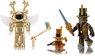 Roblox Action Collection - Simoon68 Golden God + chillthrill709 Two Figure Bundle [Includes 2 Exclusive Virtual Items]