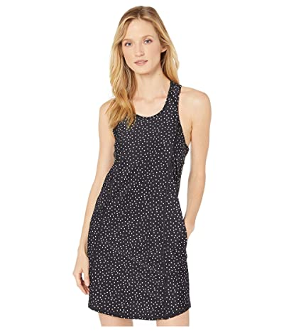 Tommy Bahama Sea Spray Dots Active Racerback Spa Dress with Pockets Cover-Up (Black) Women