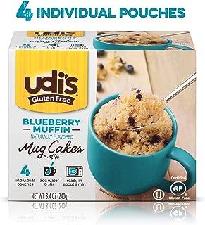 Udi's Gluten Free Blueberry Muffin Mug Cake, 8.4 Oz