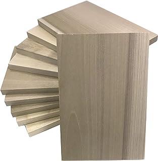 朴木の版木 はがき判 100×150×10mm 10枚組