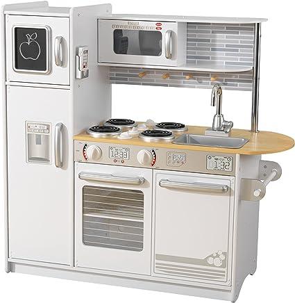 Cucina per bambini in legno con forno a microonde