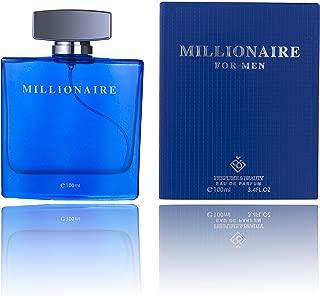 Perfume&Beauty Perfume Eau de Parfume for Men, 3.4 oz Spray Parfume for Men 100 ML- Blue Millionaire