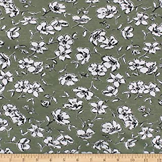 Best sage floral fabric Reviews