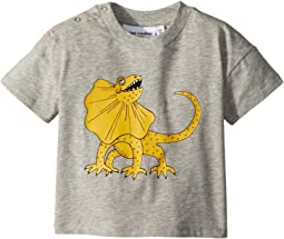 mini rodini - Draco Solid Print Short Sleeve T-Shirt (Infant/Toddler/Little Kids/Big Kids)