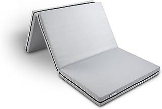 Hilding Sweden Colchón Plegable Resor, 90 x 190 cm, Espuma de Confort, Gris, 190 x 90 cm