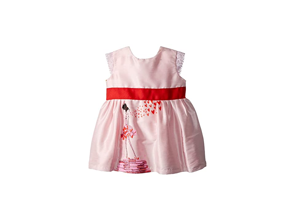 fiveloaves twofish Kisses From Paris Party Dress (Infant) (Pink) Girl